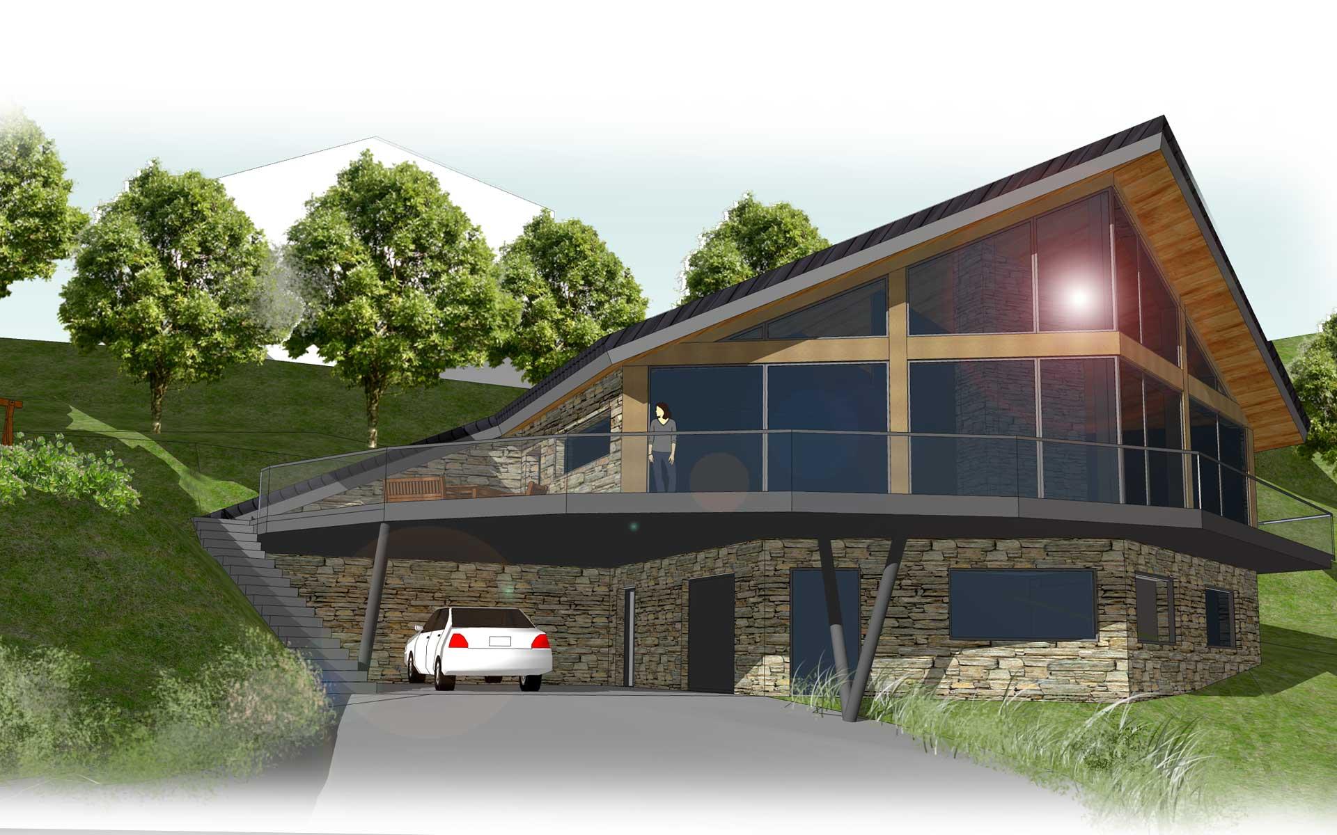 architecte maison passive duune maison maison haute savoie passive plan duune ralisation en. Black Bedroom Furniture Sets. Home Design Ideas