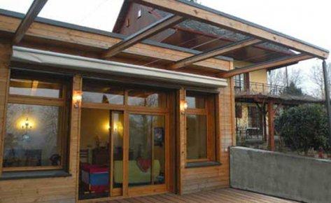 Extension maison mitoyenne BBC à Saint Pierre d'Albigny