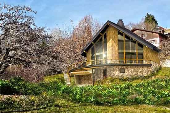 Maison passive à Jarrier, alt. 1200m