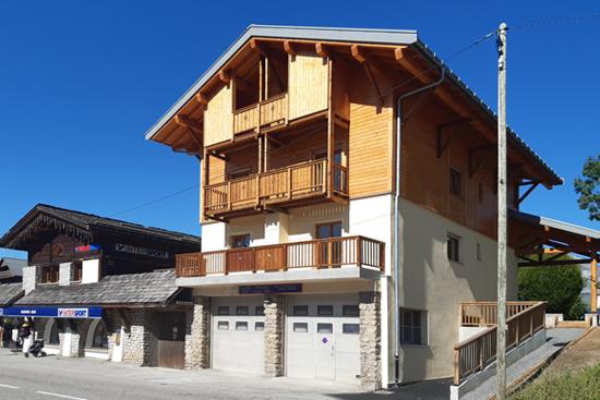 Immeuble de logements à Crest-Voland