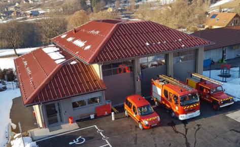 Caserne de pompiers de Theys